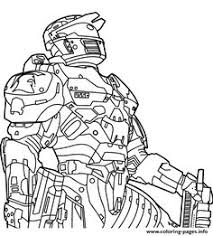 free printable halo coloring pictures toyolaenergy com lineart