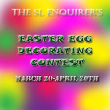 Easter Egg Decorating Contest Rules by April 2014 The Sl Enquirer