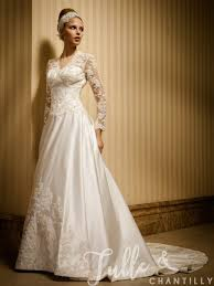 vintage wedding dresses morning classic a line vintage wedding dress with sleeves tbqw036