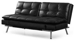 black convertible sofa lifestyle solutions matrix convertible sofa midcentury futons