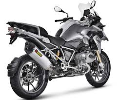 akrapovic slip on exhaust liquid cooled for r1200gs 13 16