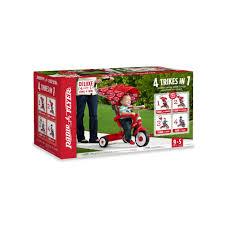 radio flyer deluxe 4 in 1 stroll u0027n trike red toys
