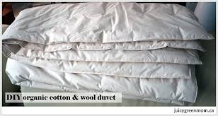 Woolen Duvet Diy Wool Duvet With Organic Wool U0026 Organic Cotton