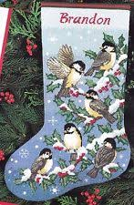 christmas needlepoint dimensions 9118 chickadees needlepoint christmas