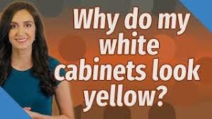 why are my white cabinets turning yellow question why are my white kitchen cabinets turning yellow