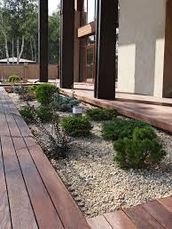 Gravel Backyard Ideas Scandinavian Gravel Landscaping Ideas U0026 Design Photos Houzz
