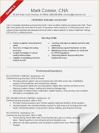 resume exles nursing cna resume sle nursing skills and professional experience