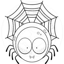 spider clipart black and white free clip art images freeclipart pw