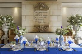 blue and gold decoration ideas royal blue and gold wedding decoration royal blue gold white