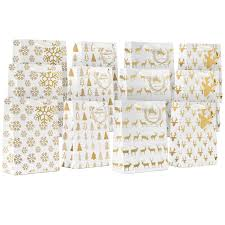 bulk christmas wrapping paper metallic solid gift wrapping tissue paper set 120
