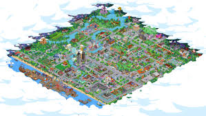 springfield map my town screenshot based on the map of springfield tappedout