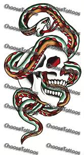 collection of 25 snake in skull sle