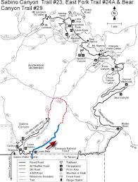 mt lemmon hiking trails map june 2013 tucson hikes