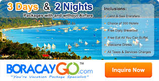 boracay vacation packages 3 days 2 nights baguio packages