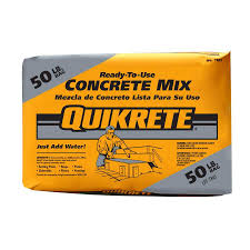 Lowes Concrete Walkway Molds by Shop Quikrete 50 Lb Gray High Strength Concrete Mix At Lowes Com