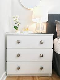 malm dresser hack bedroom redecorating reveal after pictures home at six