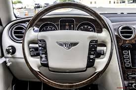 bentley steering wheel 2009 bentley continental flying spur stock 057923 for sale near