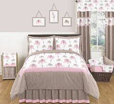 Pink Mossy Oak Comforter Set Elephant Pink U0026 Taupe Comforter Set 3 Piece Full Queen Size By