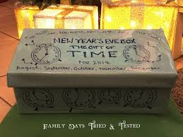 new year box gift of time new year s box family days tried and tested