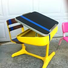 Modern School Desks School Desk Vintage Elementary School Desk Home Decor Ideas
