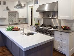 decorating white paint kitchen cabinet with cambria torquay