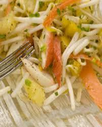 comment cuisiner les pousses de soja salade de pousses de soja au surimi pour 4 personnes recettes