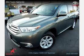 toyota highlander base price used 2011 toyota highlander for sale pricing features edmunds