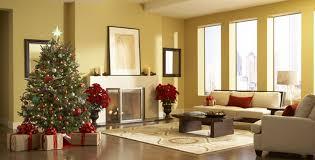 living room christmas home design