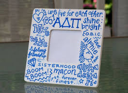 sorority picture frame 470 best alpha delta pi images on alpha chi sorority