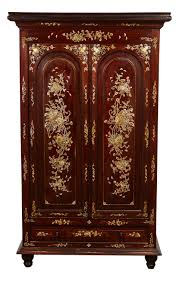 a 20th century french colonial style vietnamese rosewood cabinet