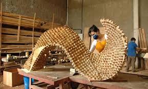 wood artists lara donatoni matana s from wood leftovers treehugger