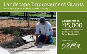 landscape improvement grants stopwaste home work
