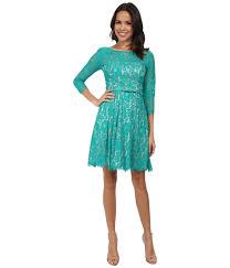eliza j dresses eliza j sleeve lace fit flare dress w pleated skirt in