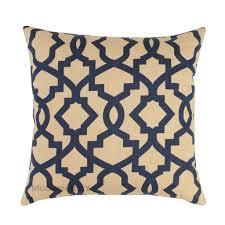 sheffield indigo blue trellis pillow cover u2013 modernality home decor