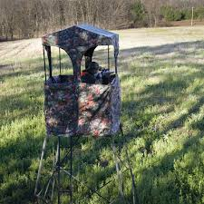 rivers edge 10 u0027 outpost hunting tower with blind