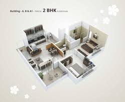 Typical Floor Plan Of A House by 1 Bhk Flats In Talegaon 2 Bhk Flats In Talegaon Dsk Sadaphuli