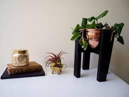 copper wood planter mid century inspired diy interior designs
