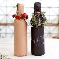 wine bottle wraps creative christmas gift wrapping ideas pink lover