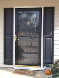 home depot black friday storm door like ours black storm door black door white frame and