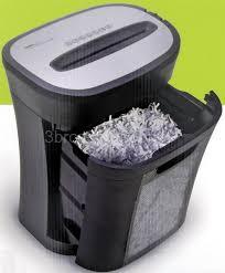 royal 12 sheet crosscut paper shredder 4 5 gallon bin