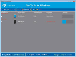 how to use seatools for windows