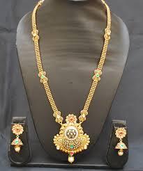 copper necklace set images Imitation jewellery gorgeous brilliant copper base necklace set jpg