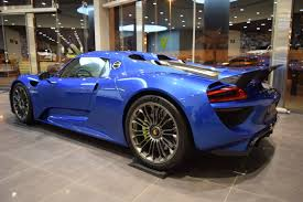 porsche night blue glamorous blue porsche 918 spyder is our type of hypercar