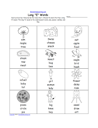 long e alphabet activities at enchantedlearning com