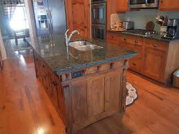 custom made kitchen island handmade arts and crafts style kitchen island by paul s green barn