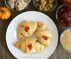 thanksgiving leftover crescent roll ups recipe a