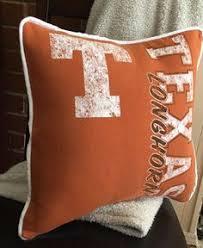 Decorative Longhorns All Over Texas Longhorns Decorative Pillow Texas Longhorns