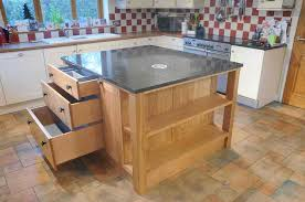 kitchen islands oak made island unit in oak shropshire woodsmiths