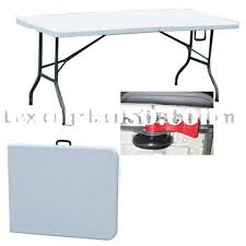 plastic fold out table attractive 6 foot plastic folding table pair 2x 4ft folding table