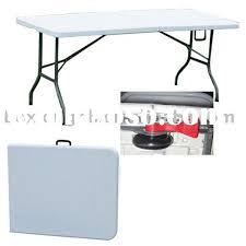 6 plastic folding table 6 foot plastic folding table facil furniture